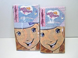 HOLLY HOBBIE & FRIENDS PAIR OF 2 PILLOW CASES UNOPENED PRETTY PATCHES DE... - $14.75