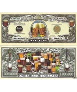 Beer Drinking Money $1,000,000 Bill Note - free shipping - $3.99