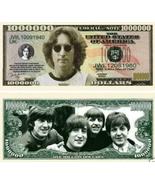 Beatles John Lennon 1 Million Dollars Bill Note - free shipping - $3.99