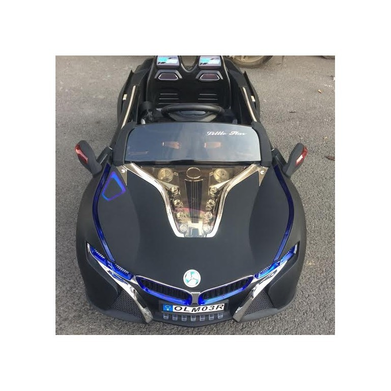 Bmw I8 12v Electric Ride On With Remote Control: BMW I8 Style Kids Ride On Battery Powered Electric Car