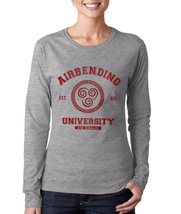 Airbending University Avatar air bender Women tee Long Sleeve Color Spor... - $21.50 - $24.50