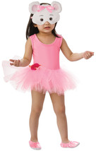 Angelina Ballerina Costume 7 8 Years Old With Face Mask Halloween Costume - $14.80