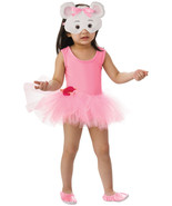 ANGELINA BALLERINA COSTUME 7-8 YEARS OLD WITH FACE MASK HALLOWEEN COSTUME - $14.80