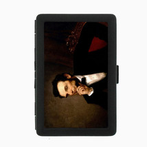 Abraham Lincoln Black Cigarette Case D3 Metal Wallet American President Abe - $5.89