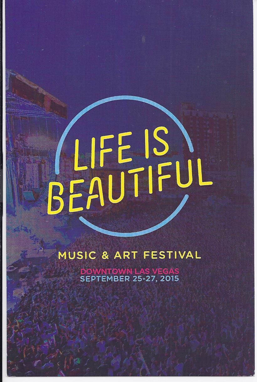 Life is beauti promo card