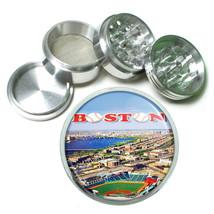 Boston Fenway Park Red Sox Metal Silver Aluminum Grinder D146 63mm Herb Spice - $14.80