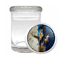Carnival D5 Odorless Air Tight Medical Glass Jar Container Brazil Sexy Fun - $7.88