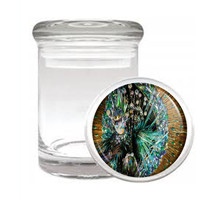 Carnival D4 Odorless Air Tight Medical Glass Jar Container Brazil Sexy Fun - $7.88