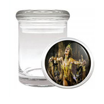 Carnival D1 Odorless Air Tight Medical Glass Jar Container Brazil Sexy Fun - $7.88