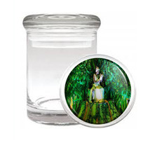Carnival D9 Odorless Air Tight Medical Glass Jar Container Brazil Sexy Fun - $7.88