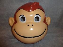 CURIOUS GEORGE MONKEY HALLOWEEN MASK PVC CHILD SIZE - $6.30