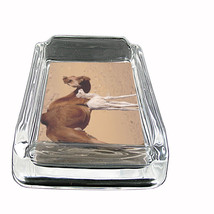 "Camel D2 Glass Ashtray 4""x3"" Desert Animal Hump Back - $9.85"