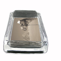"Camel D3 Glass Ashtray 4""x3"" Desert Animal Hump Back - $9.85"