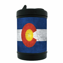 "Colorado Flag Black Metal Car Ashtray D1 Denver 420 State 3.5"" x 2.25"" - $12.95"