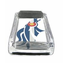 """Colorado Flag Glass Ashtray D3 4""""x3"""" Denver 420 State - $9.85"""