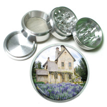 Cottage Aluminum Grinder D9 63mm 4 Piece Forest Dwelling Old Fashioned Home - $9.85