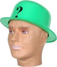 Dc Comics Batman The Riddler Green Hat Pvc Cap Boller - $8.86