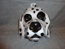 Dalmation Dog Animal Halloween Mask Pvc - $10.84