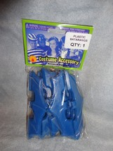 DC COMICS BATMAN PLASTIC BATARNGS SET OF 12 IN PACKAGE - $7.87