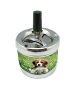 Dog Beagle 4 Stylish Designer Spin Ashtray - $7.91