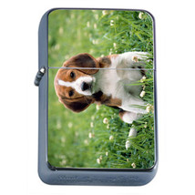 Dog Beagle 4 Refillable Fliptop Oil Lighter - $13.95