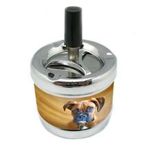 Dog Boxer 01 Stylish Designer Spin Ashtray - $7.91