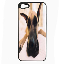 Dog Great Dane 03 iPhone 5 5S Hard Case Back Cover - $10.42