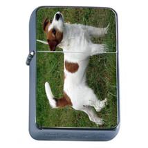 Dog Jack Russell 01 Refillable Fliptop Oil Lighter - $10.42