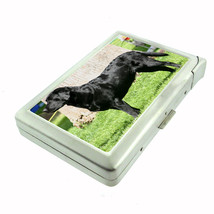 Dog Labrador Retriever Cigarette Case w/ Built In Lighter - $12.40