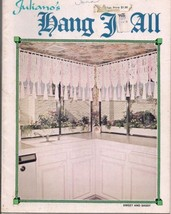 Vintage Juliano's Hang it All MACRAME PATTERN BOOK 10 patterns lamps cur... - $14.85