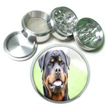 Dog Rottweiler Head Aluminum Herb Tobacco 4pc Grinder - $12.40