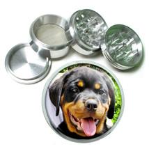 Dog Rottweiler puppyface Aluminum Herb Tobacco 4pc Grinder - $12.40