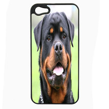 Dog Rottweiler Head iPhone 5 5S Hard Case Back Cover - $10.42