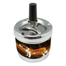 Dog Saint Bernard01 Stylish Designer Spin Ashtray - $7.91