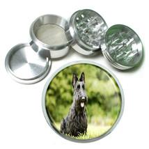 Dog Scottish Terrier Aluminum Herb Tobacco 4pc Grinder - $12.40