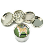 "Dog Shiba Inu 01 Metal Grinder 4PC 2"" Stylish Designer - $8.70"