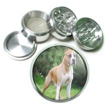 Dog Staffordshire Terrier american Aluminum Herb Tobacco 4pc Grinder - $12.40