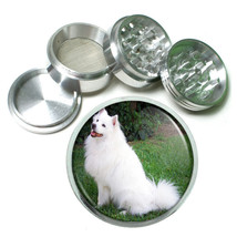Dog american eskimo dog Aluminum Herb Tobacco 4pc Grinder - $12.40