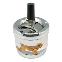 Dog brussels griffon 01 Stylish Designer Spin Ashtray - $7.91