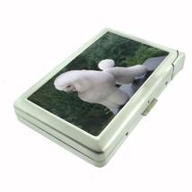 Dog poodle Cigarette Case w/ Built In Lighter - $12.40
