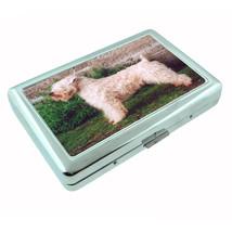 Dog wheaten terrier 02 Metal Silver Cigarette Case - $10.42