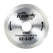 Floor King Diamond Rim Saw Blade comparable to the Crain 789 saw blade
