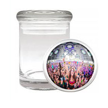 Edm D5 Odorless Air Tight Medical Glass Jar Container Las Vegas Rave Party Dance - $12.95