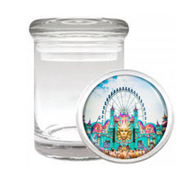 Edm D7 Odorless Air Tight Medical Glass Jar Container Las Vegas Rave Party Dance - $12.95