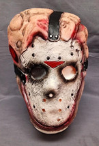Friday The 13 Th Jason Vorhees Chemical Toxic Waste Face Mask Teen / Adult Latex - $4.90
