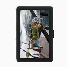 Fishing Cigarette Case D8 Metal Wallet Fisherman Trout Lake Sea Water Ocean - $5.89