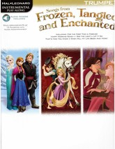 Disney's Frozen Tangled and Enchanted Sheet Music for Trumpet -Let it Go ! - $11.64