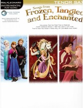 Disney's Frozen Tangled and Enchanted Sheet Music for Tenor Sax -Let it ... - $11.64
