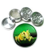 Frog Aluminum Grinder D1 63mm 4 Piece Amphibian Colorful Poison Toad Rai... - $7.88