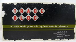 Trade Bloc Board Game ! Vintage- Rare 1964 Board Game from Trade Bloc Inc - $33.20